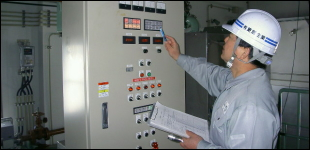 下水処理施設維持管理のイメージ